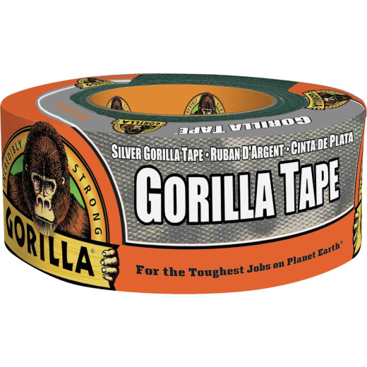 Gorilla 1.88 In. x 12 Yd. Heavy-Duty Duct Tape, Silver